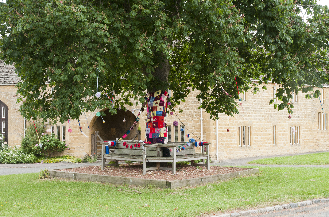 Decorated Willersey Jubilee Tree