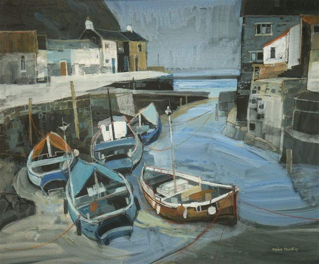 Moira Huntly Boats at Staithes
