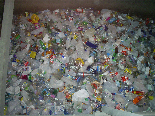 Many Plastic Bottles
