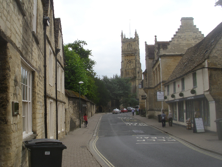 A road in Cirencester
