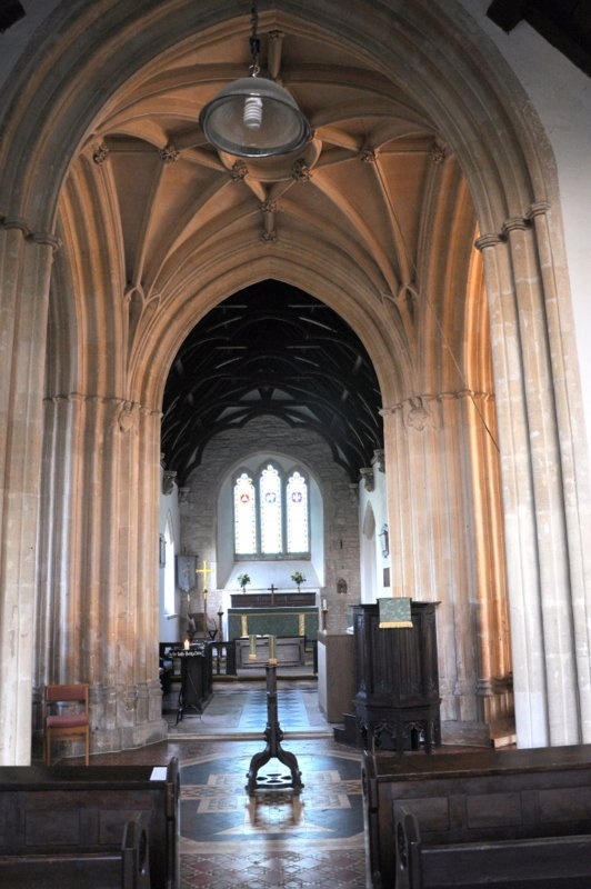 Arches in St Peters Church Willersey