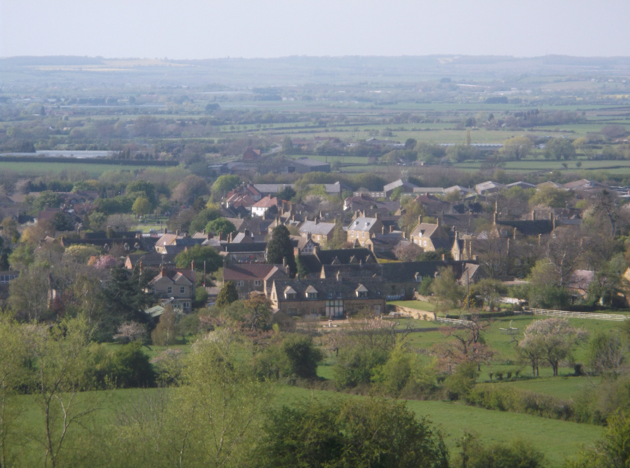Willersey from above