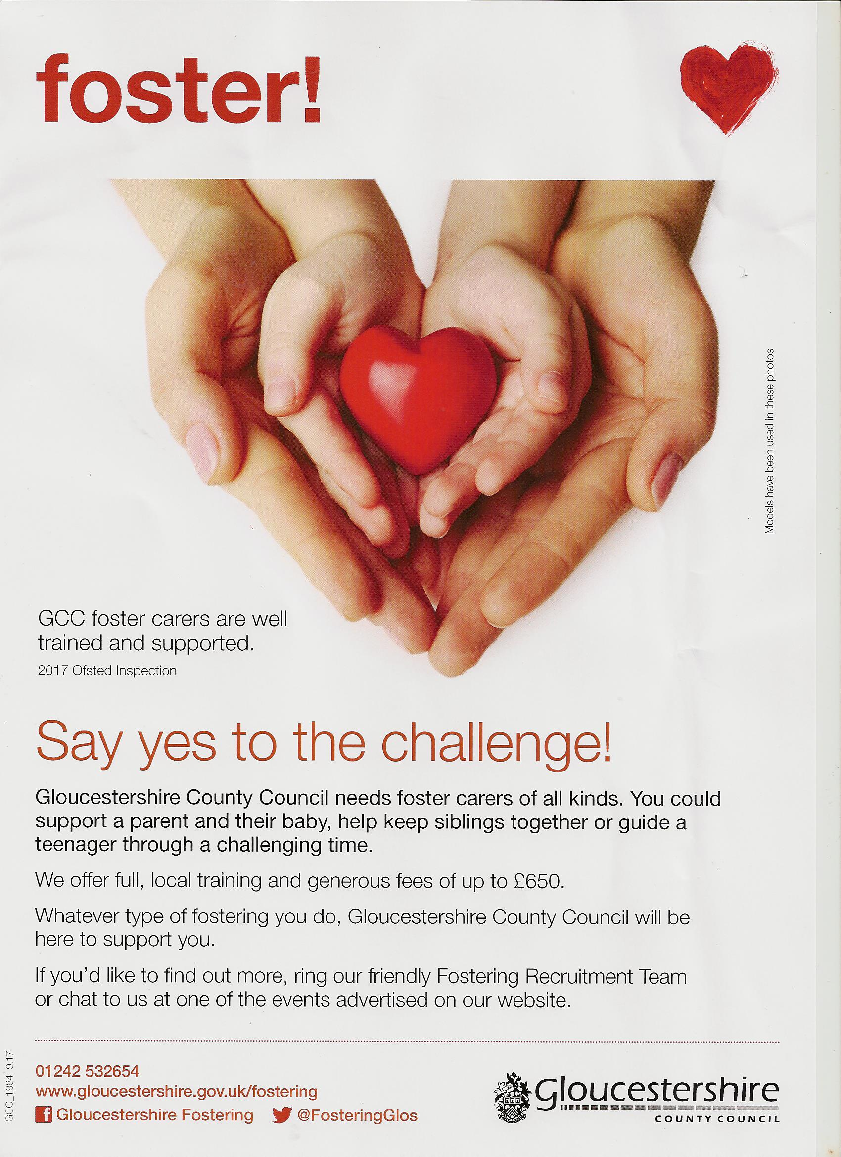 Fostering Poster from GCC