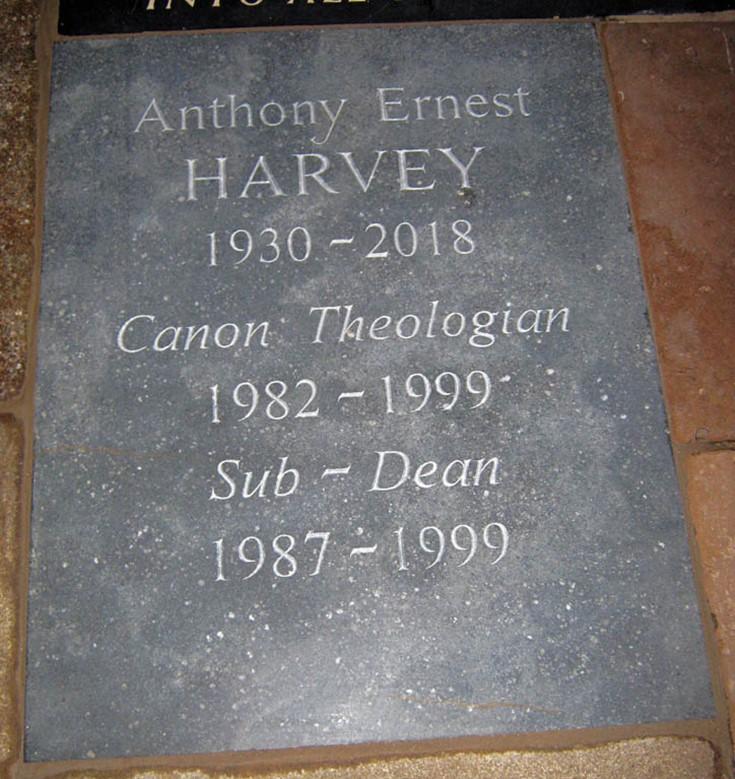 Canon Anthony Harvey