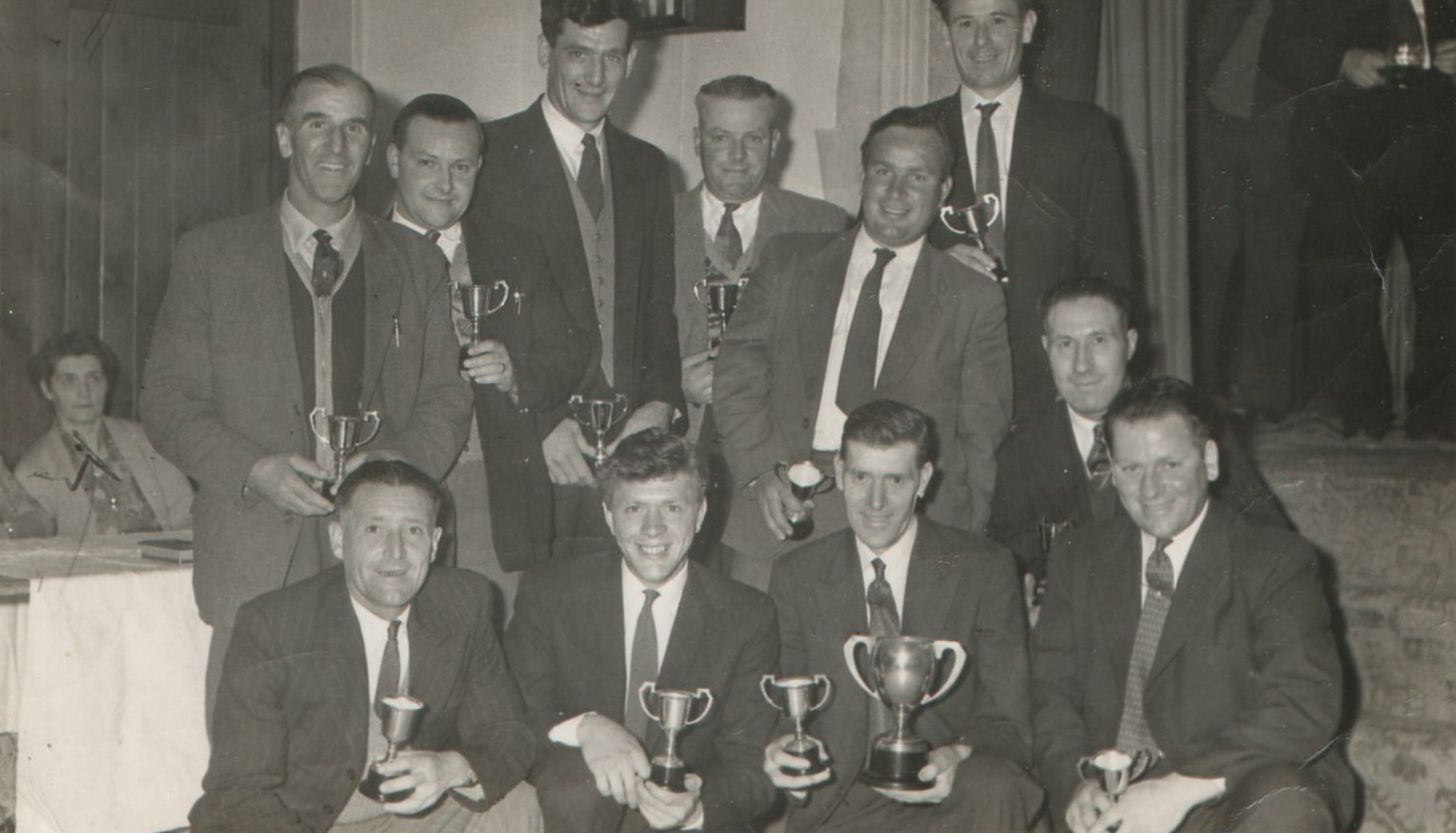 Willersey Cricket Team with Cups Won