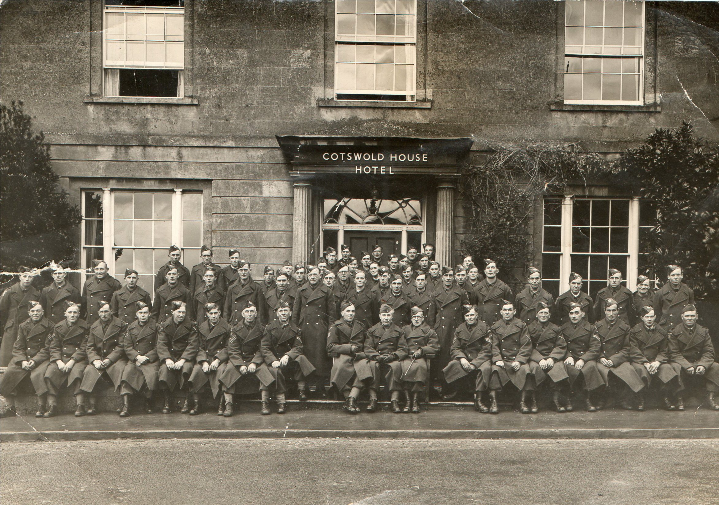 Willersey Home Guard members