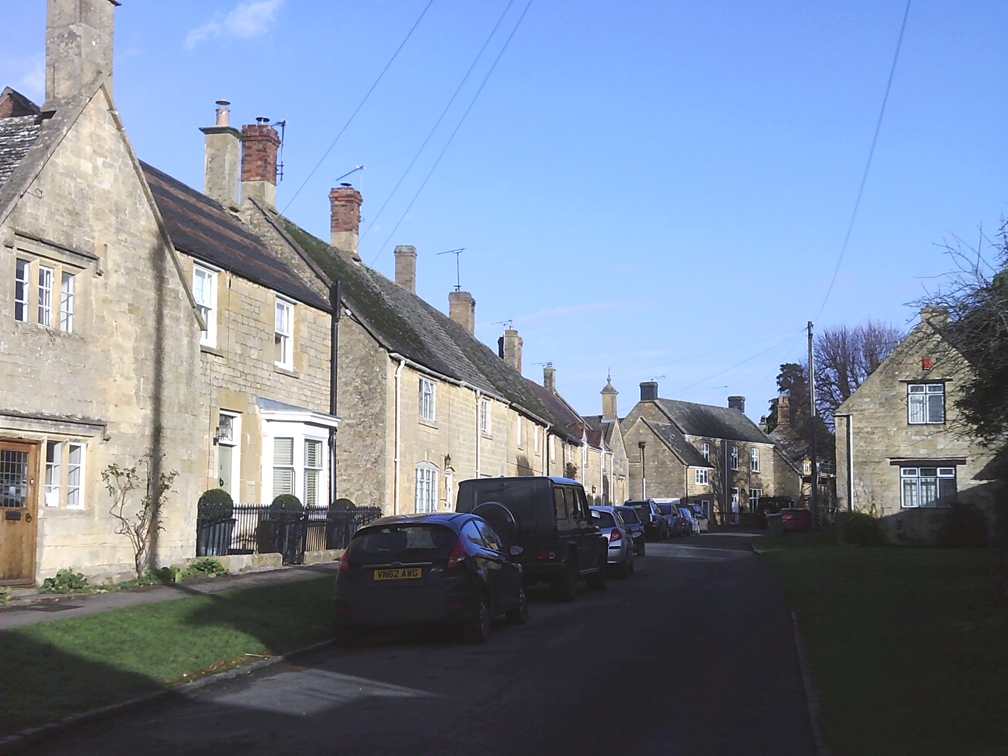 Houses in Church Street Willersey