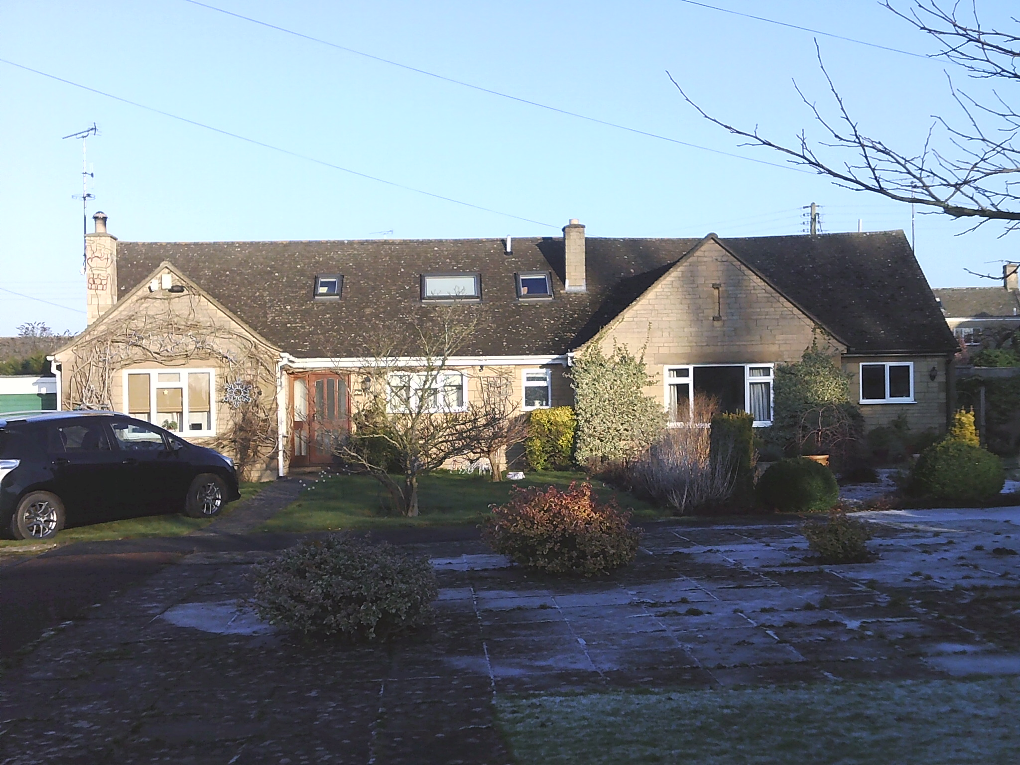 Houses in Frampton Drive Willersey