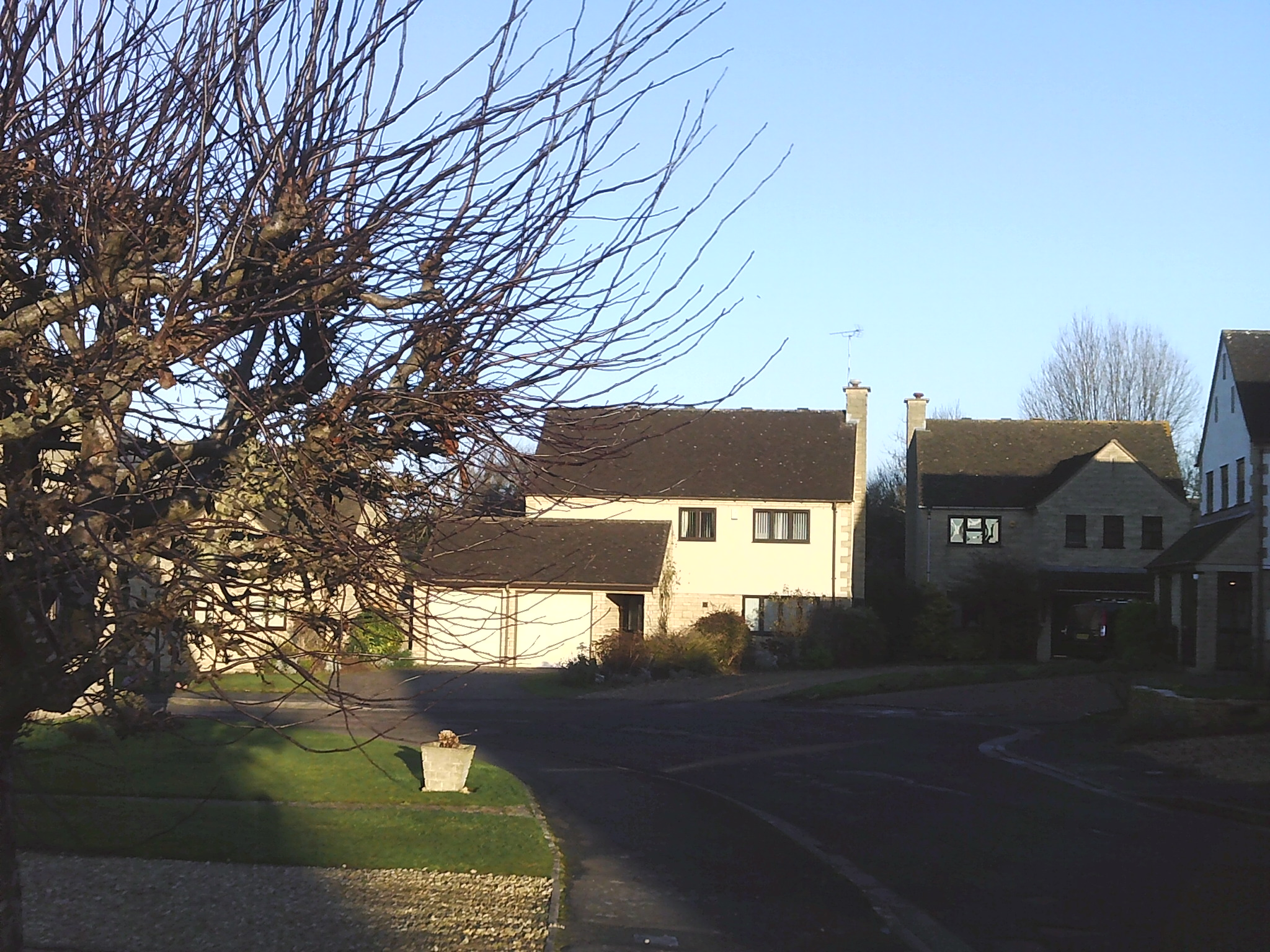 Houses in Willow Road Willersey