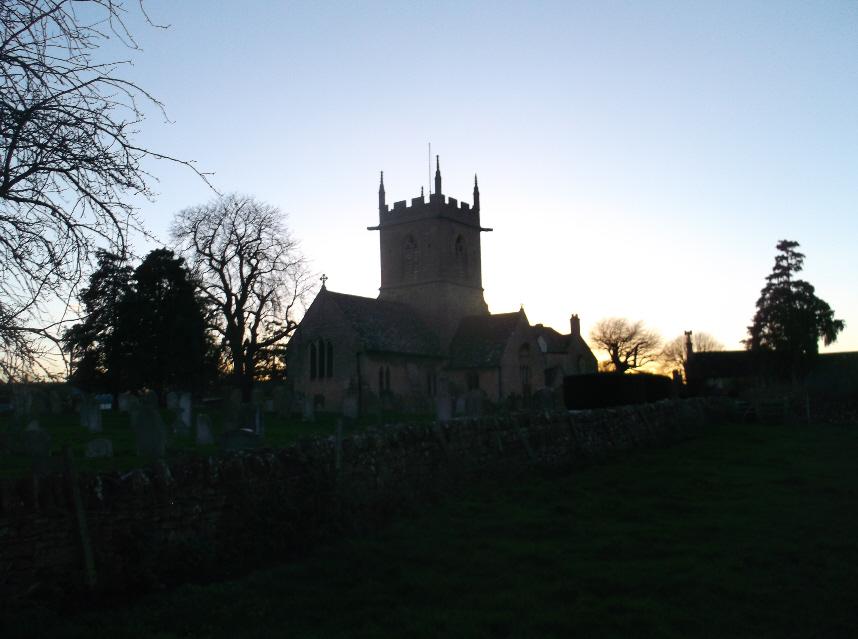 Sunset St Peter's