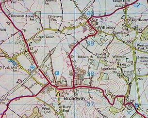 Original Roads in Willersey